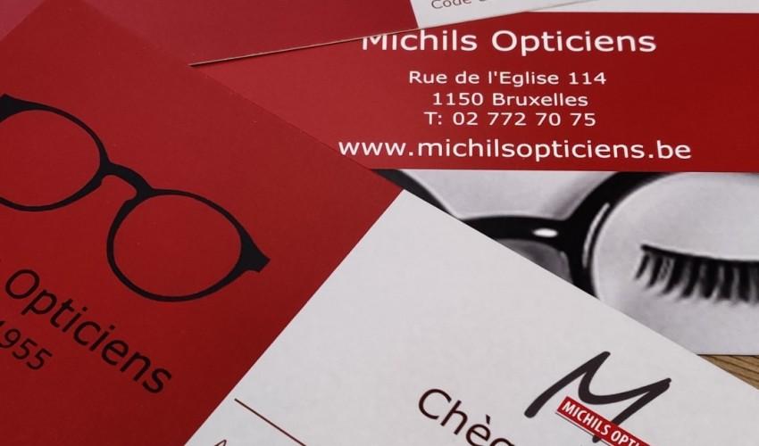 Un chèque cadeau chez Michils Opticiens, Une excellente idée !